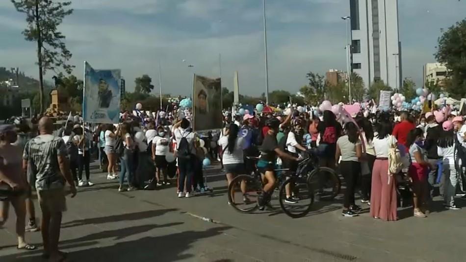 Manifestantes marchan pidiendo justicia para Tamara e Itan