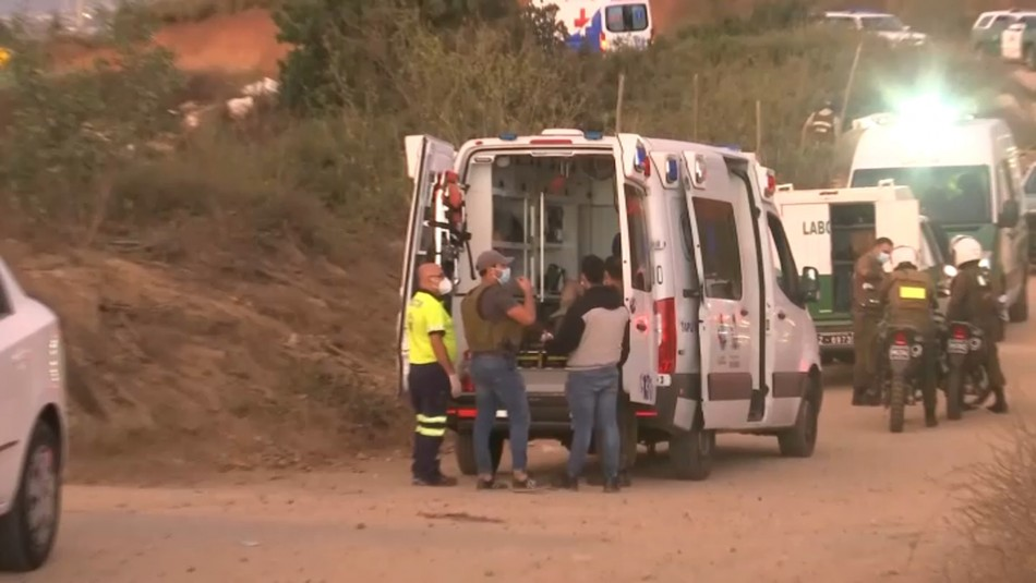 Un fallecido y dos carabineros heridos a bala deja persecución en Valparaíso