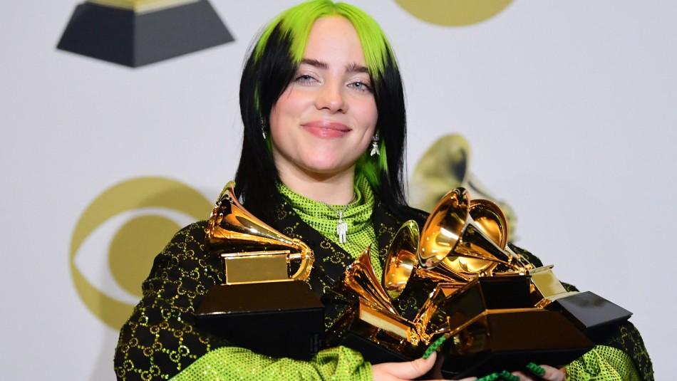 Billie Eilish y sus Grammy