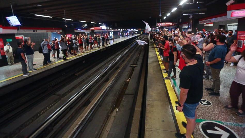 Metro confirma que toda la red se encuentra disponible pese a movilizaciones de trabajadores