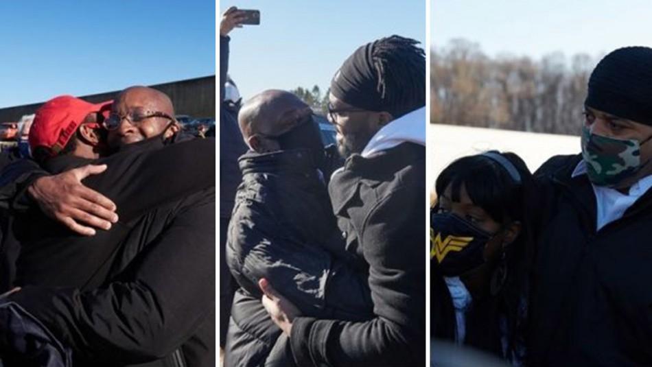 Afroamericanos son liberados tras 24 años presos por un crimen que no cometieron