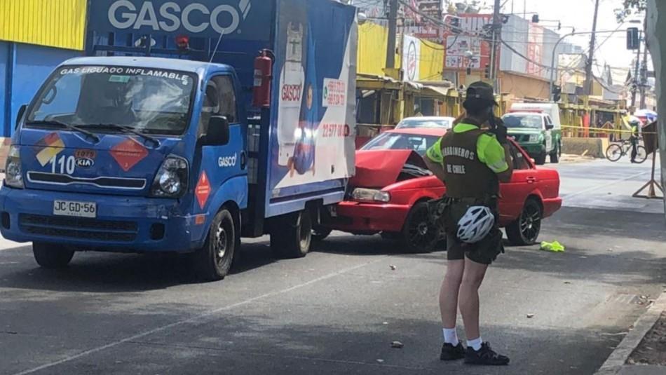 Carabineros tras baleo a vehículo que atropelló a policía: