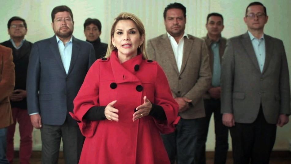 Expresidenta de Bolivia Jeanine Añez fue detenida por