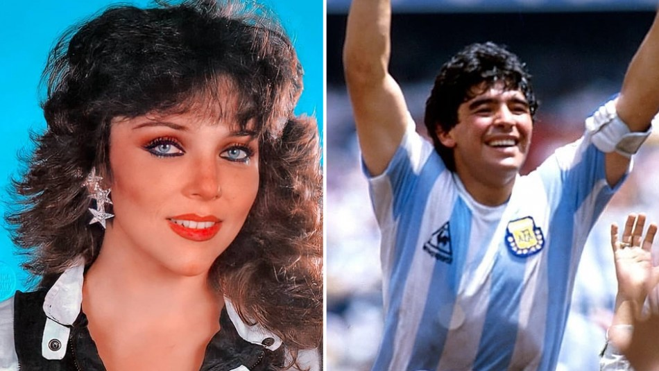Salen a la luz detalles de supuesto romance secreto entre Diego Maradona y Verónica Castro
