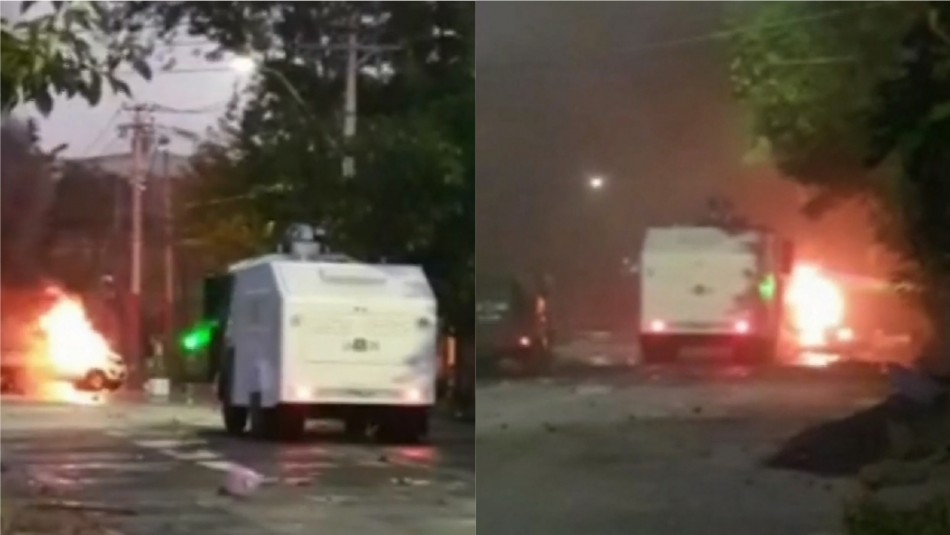 Con disturbios y 26 detenidos terminó allanamiento en comedor solidario en Villa Francia