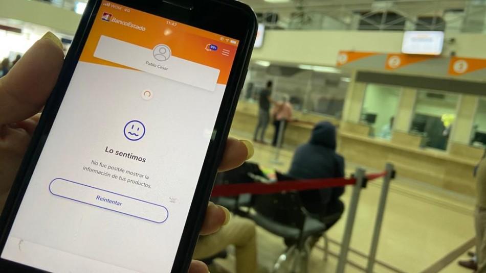 BancoEstado reconoce intermitencia en sus sistemas pero aclara que ya están