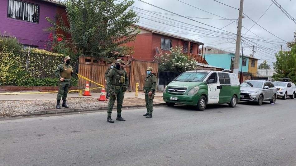 Femicidio en Puente Alto: expareja dispara a víctima cuando iba a su trabajo