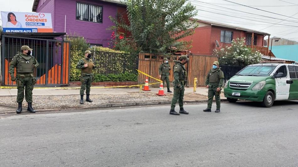 Femicidio en Puente Alto: Expareja habría violado orden de alejamiento
