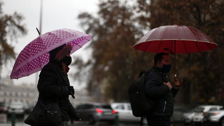 Precipitaciones en Santiago: ¿A qué hora podría volver a llover este lunes?