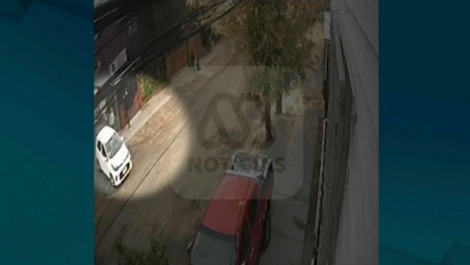 Femicidio en Puente Alto: Video muestra momento en que mujer es atacada por su expareja