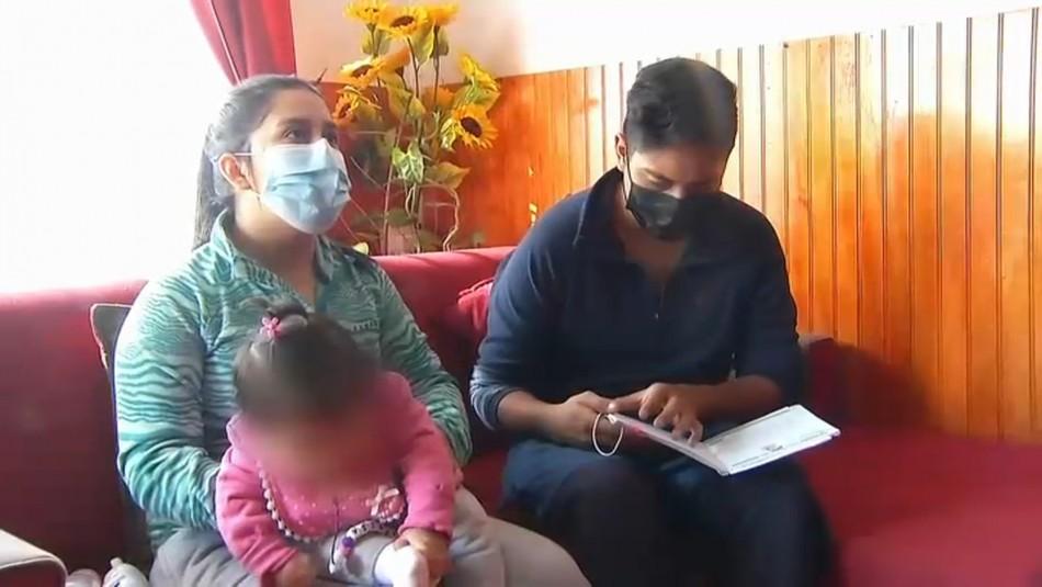Papá de bebé vacunada contra el coronavirus: