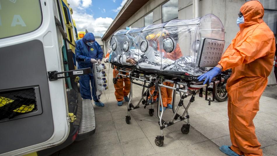 Balance coronavirus: pacientes hospitalizados superan los 2.100