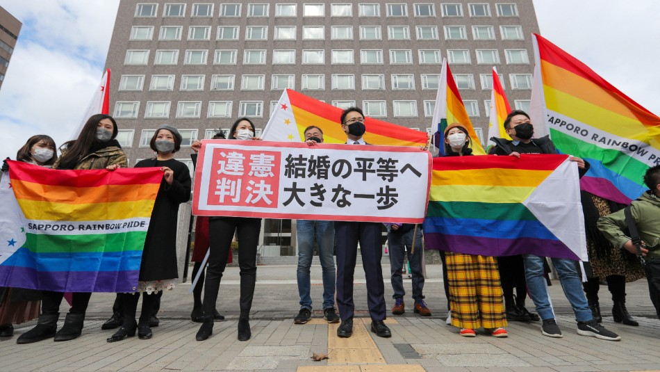 No reconocer el matrimonio homosexual es inconstitucional para un tribunal de Japón