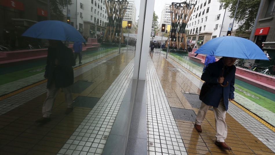 Precipitaciones en Santiago: hora en que lloverá y las comunas que se verán afectadas
