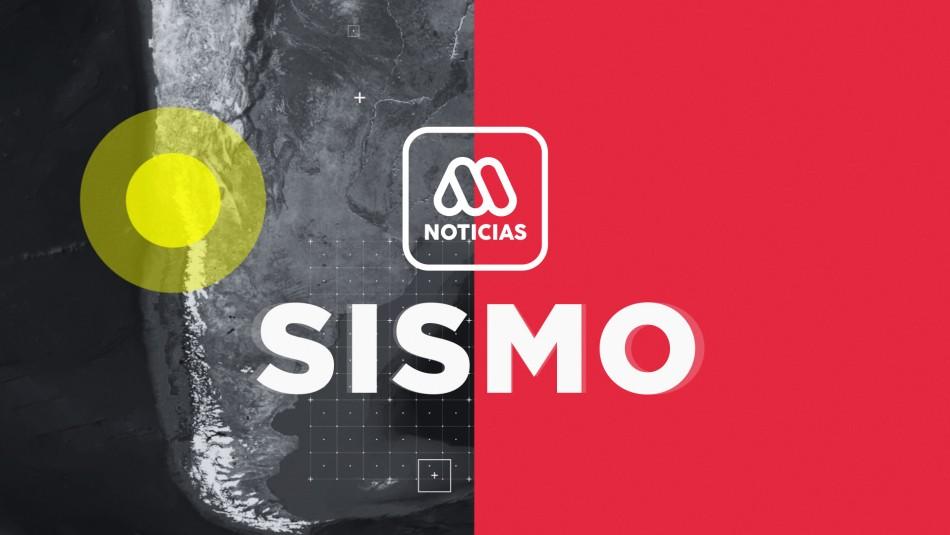 Temblor se percibe en la zona norte de Chile