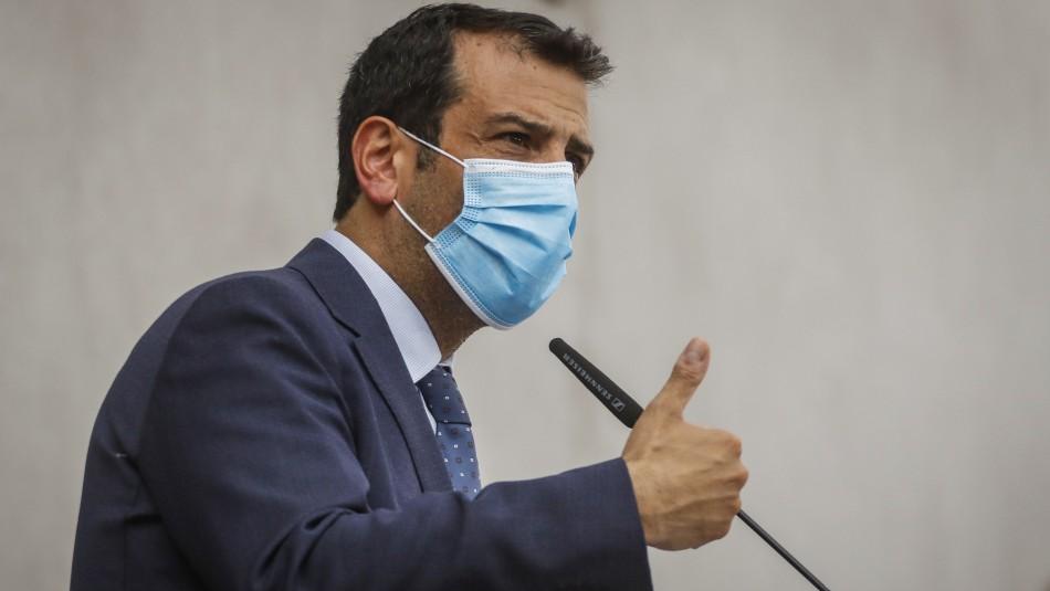 Ministro Rodrigo Delgado fue dado de alta tras contagio de coronavirus: Se controló su neumonía