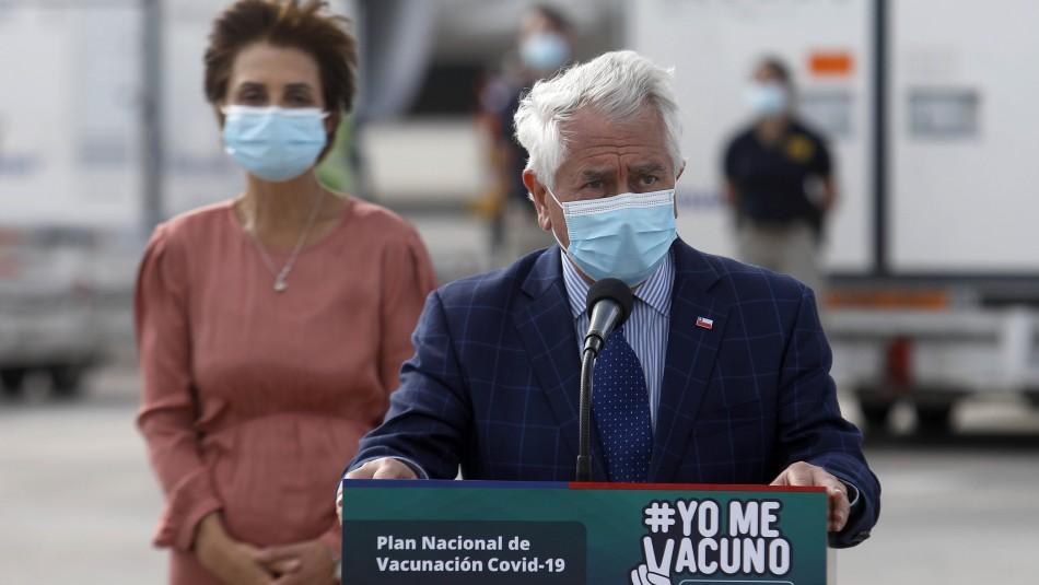 Ministro Paris confirma brote de coronavirus en cárcel de Arica: