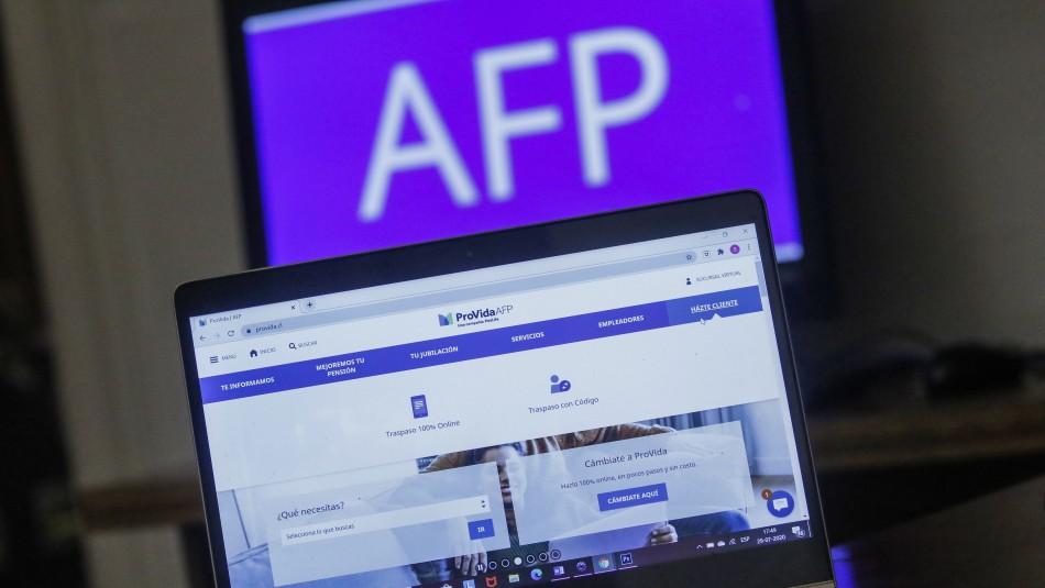 Asociación de AFP tras anuncios del Gobierno: