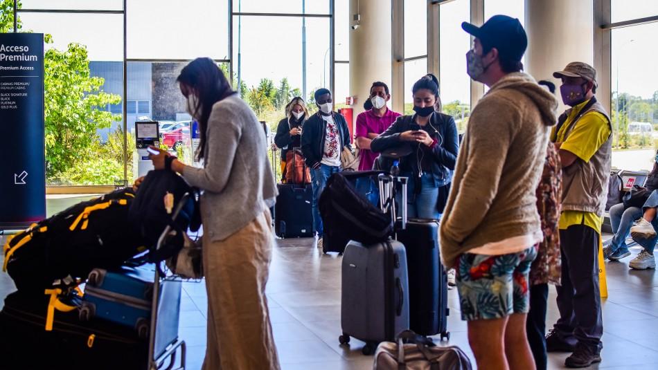 Medida especiales para viajeros en Chile.