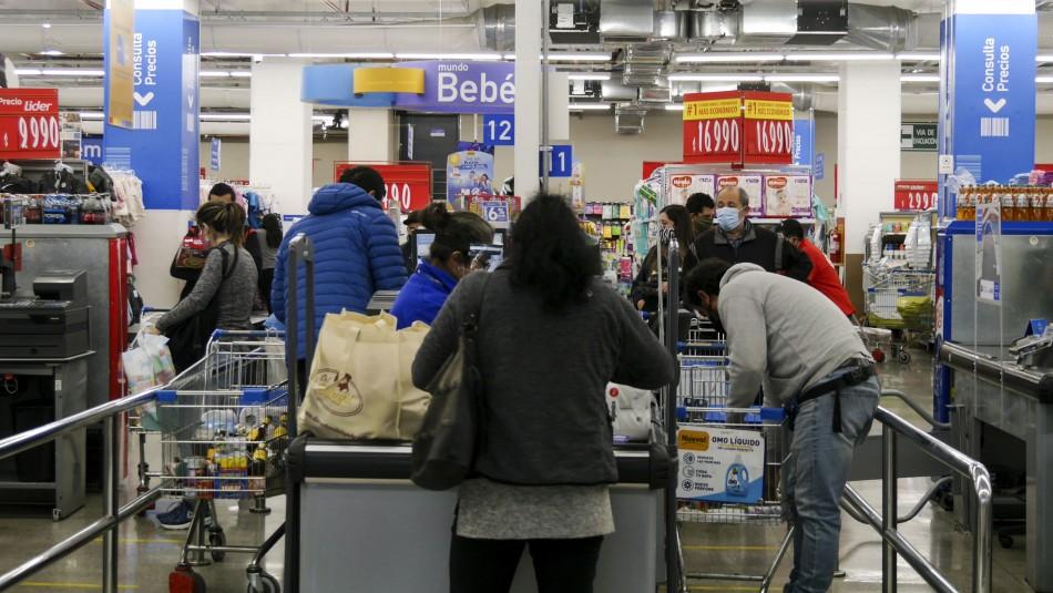 Cuarentena total en la RM: Conoce los horarios en que funcionarán los supermercados