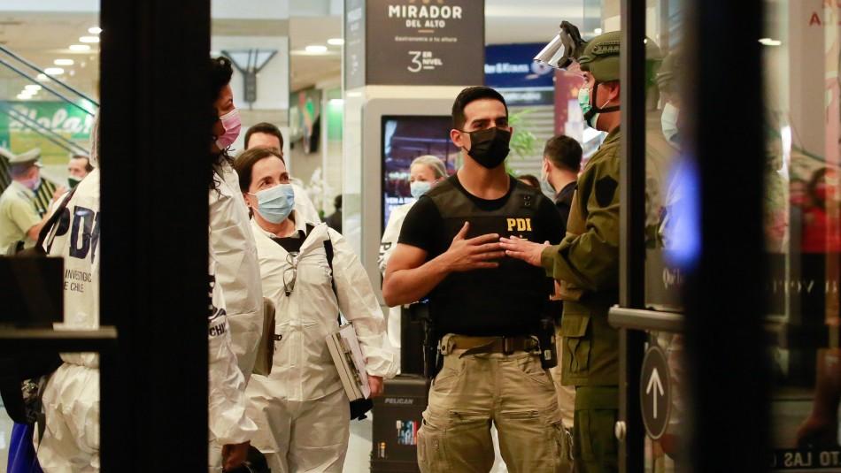 Balacera en Alto Las Condes: Un PDI herido deja violento asalto a joyería