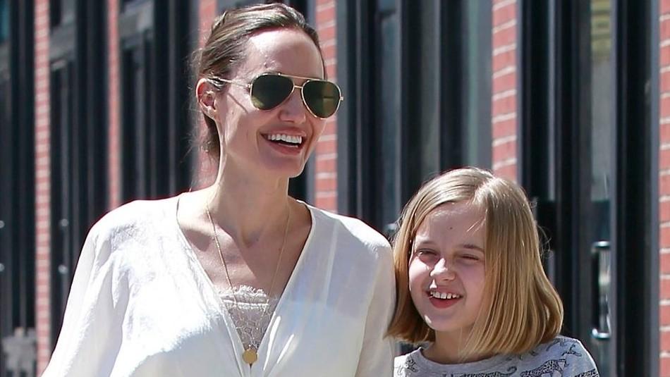 Angelina Jolie reaparece junto a su hija Vivienne y sorprende por lo alta y el parecido a Shiloh
