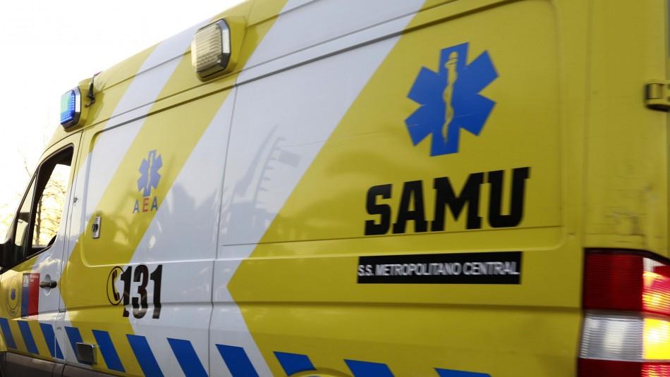 Niño de 5 años falleció en accidente de tránsito ocurrido en la región del Biobío