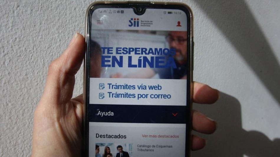 Operación Renta: Este es el sitio oficial del SII para realizar tu declaración