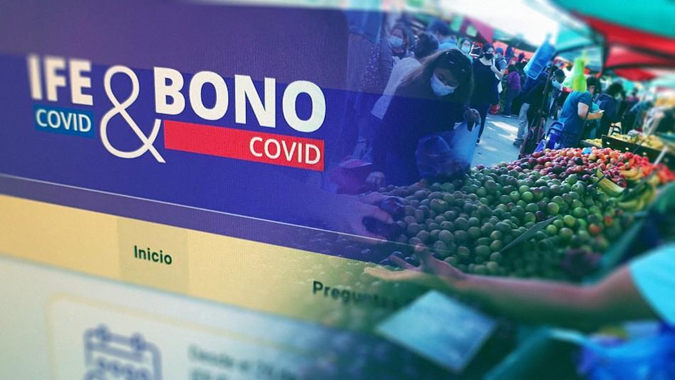 Bono Covid: Revisa cuándo comienzan las solicitudes para el pago de abril
