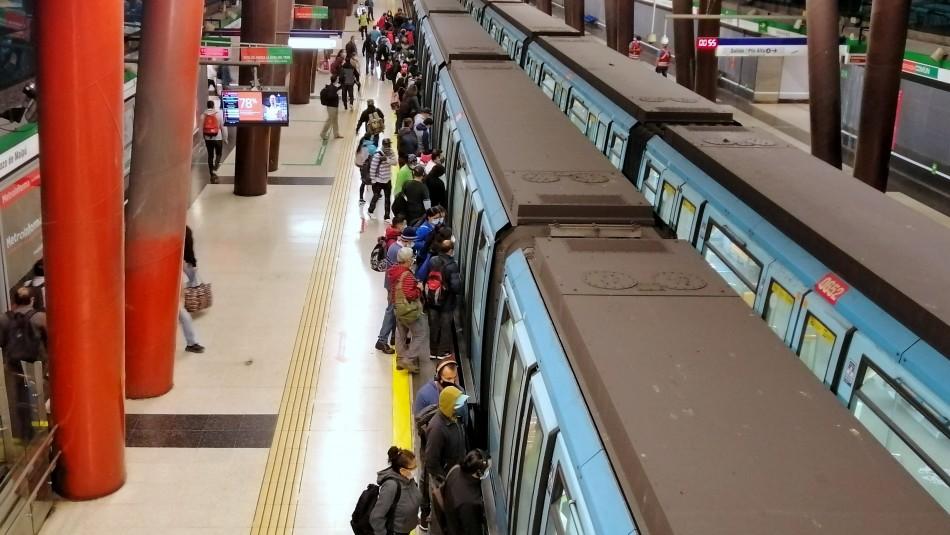 Metro, Red y Tren Central: Así funcionará el transporte público durante Semana Santa