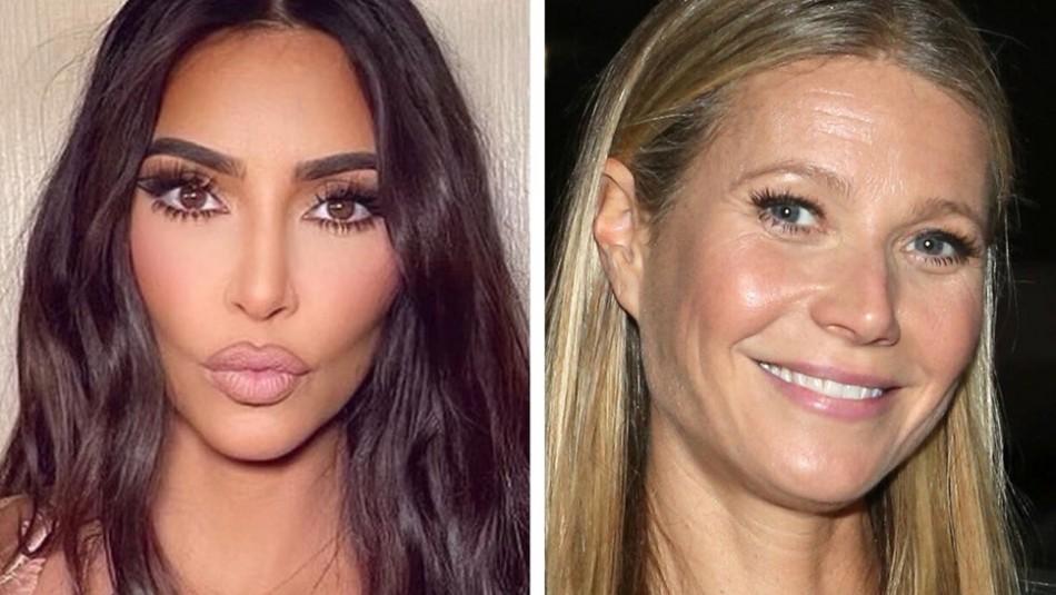 Kim Kardashian recibe de Gwyneth Paltrow un kit lleno de juguetes sexuales