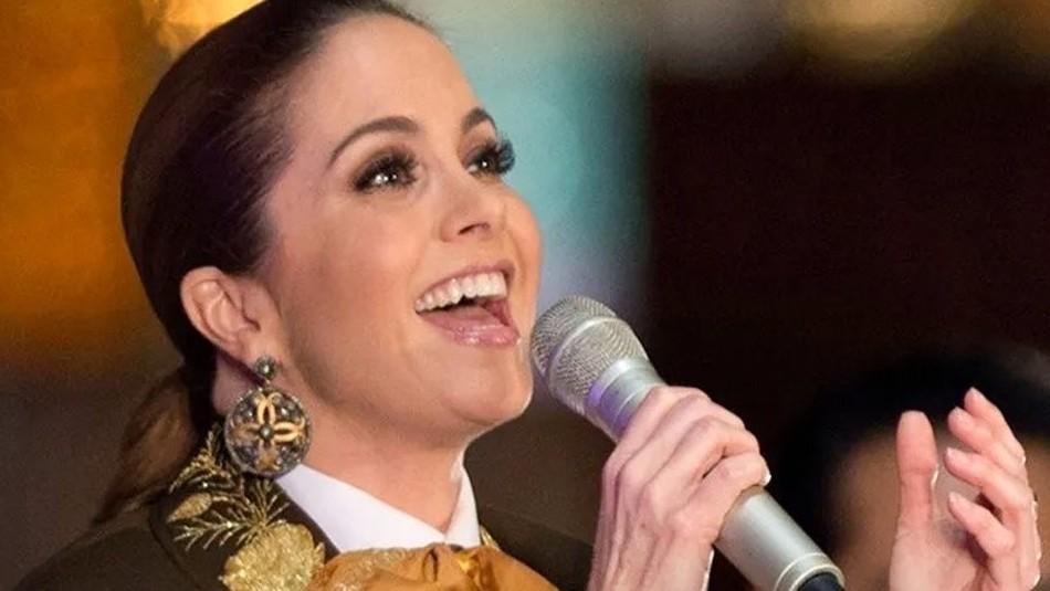 Así emocionó Lucero vestida de charro a sus fans con un divertido baile