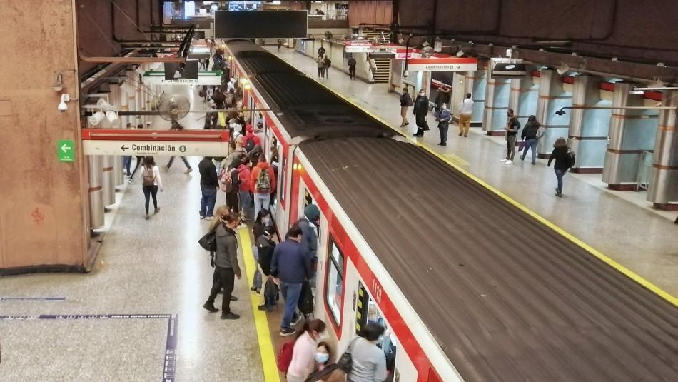 El nuevo horario de funcionamiento del Metro desde este lunes
