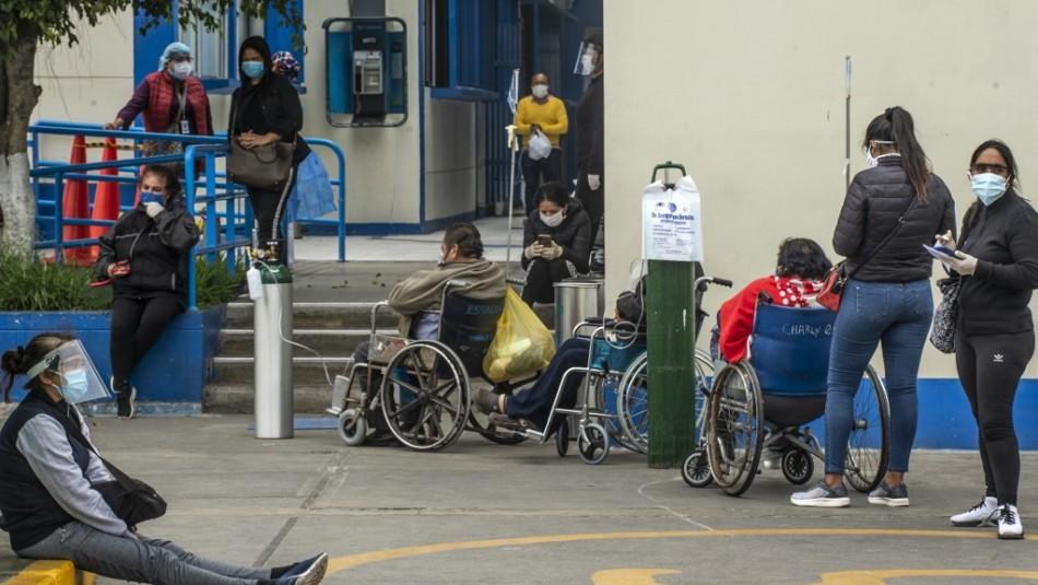 Perú bate récord con casi 13.000 contagios de coronavirus en un día