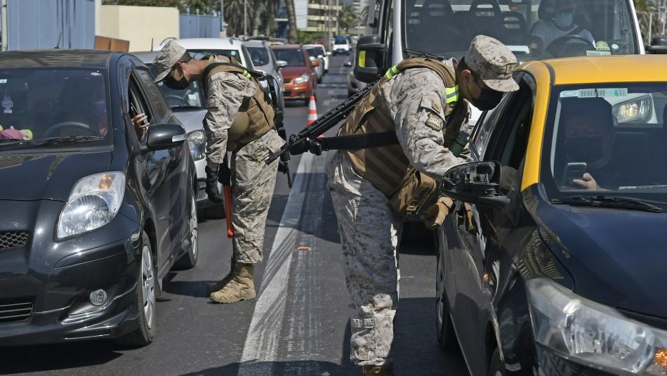 Balance de carreteras: 155 vehículos han sido devueltos a la RM en las últimas horas