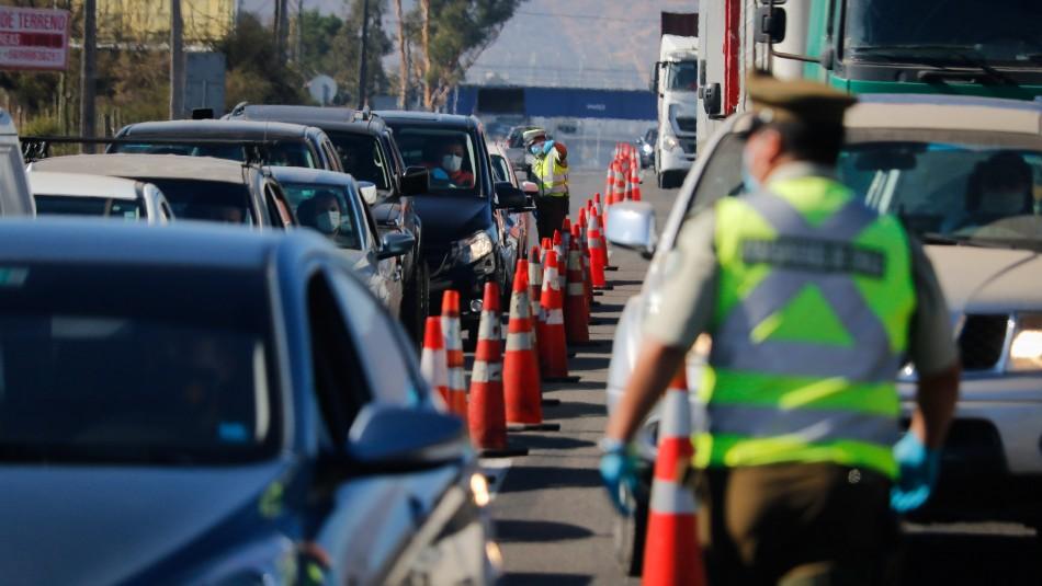Balance por Semana Santa: Cerca de 600 vehículos fueron devueltos en diversas carreteras