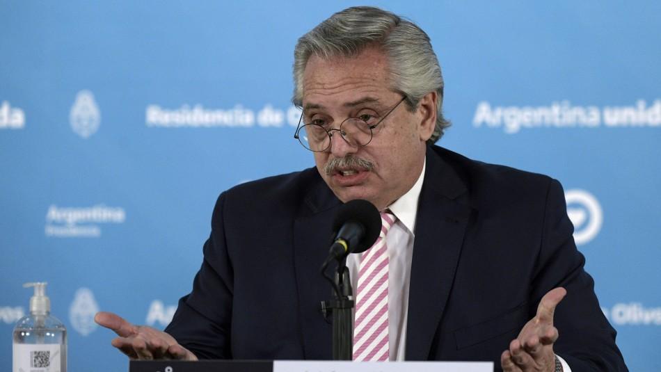 Fabricante de vacuna Sputnik V y contagio del inoculado Presidente argentino: