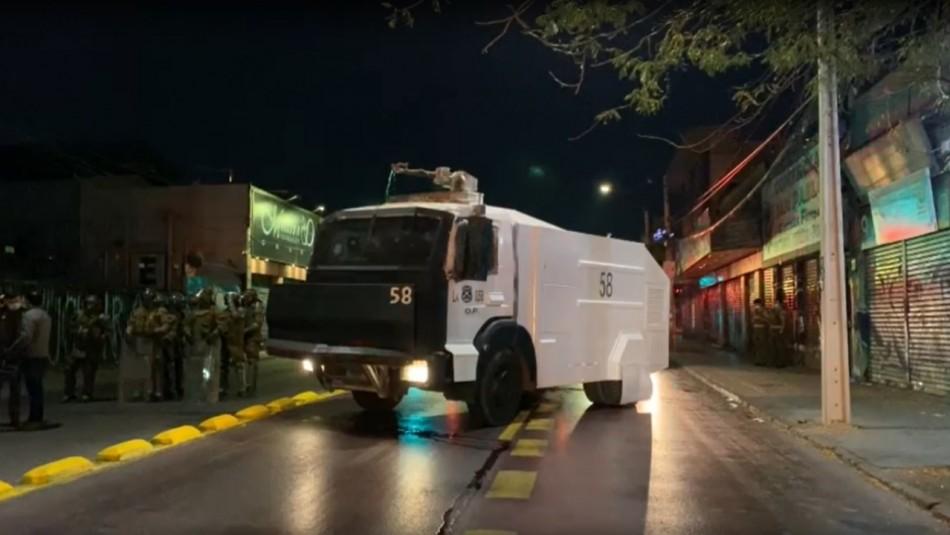Sorprenden a 67 personas en fiesta clandestina en Quinta Normal: Hay carabineros lesionados
