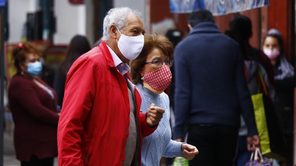 Franja horaria para desplazamiento de mayores de 75 años seguirá vigente en Fase 1