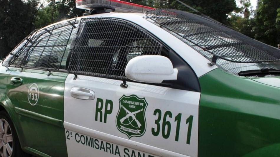 Carabineros acusado de robo en San Felipe.