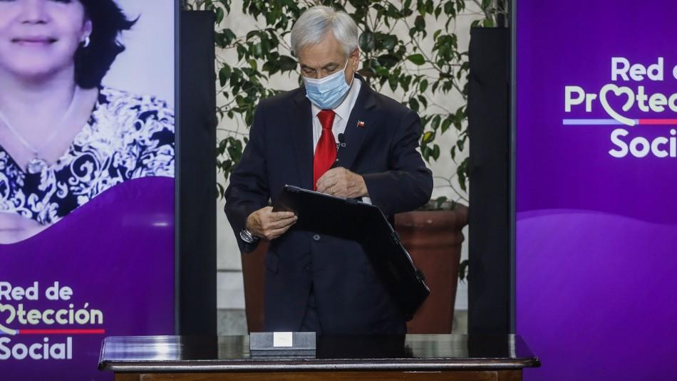 Presidente Piñera promulga ley que establece el Bono de Clase Media y Préstamo Solidario