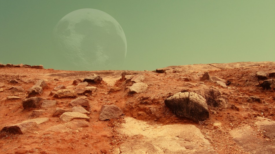 Imagen referencial de Marte