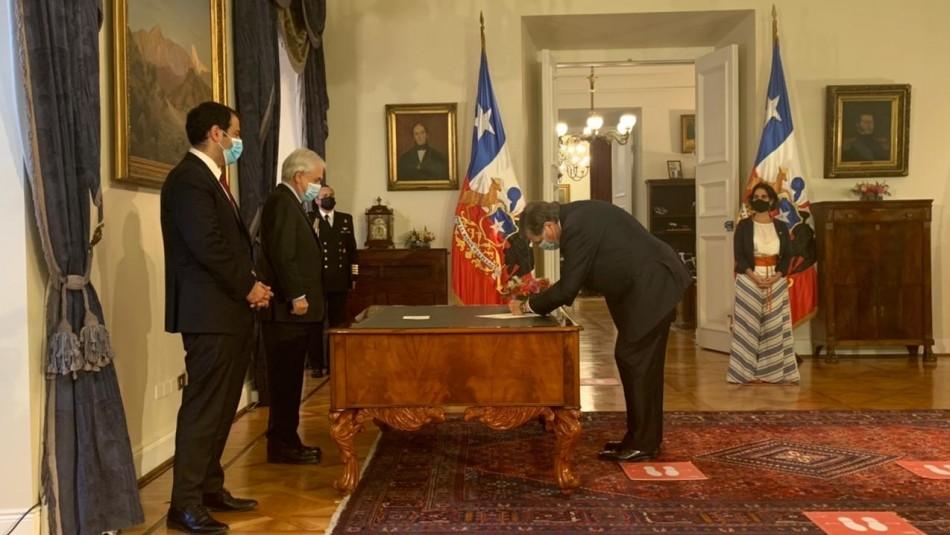 Cambio de Gabinete: Patricio Melero reemplaza a María José Zaldívar como ministro del Trabajo